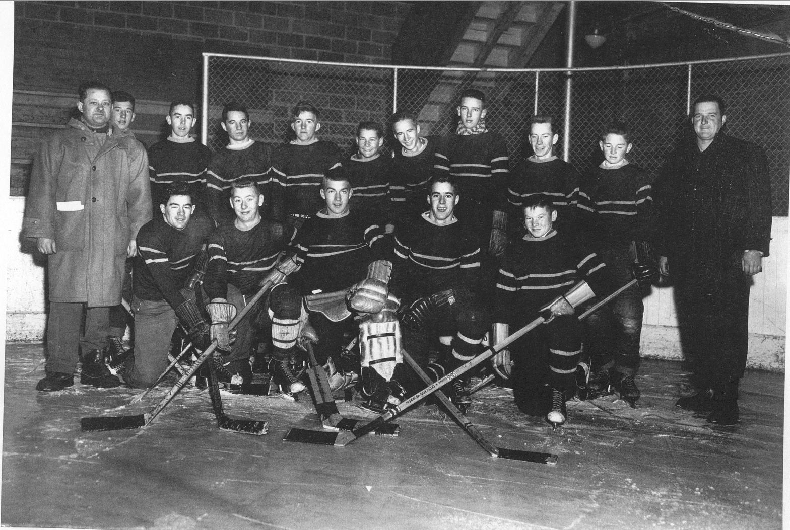 NSER hockey team 1955-56