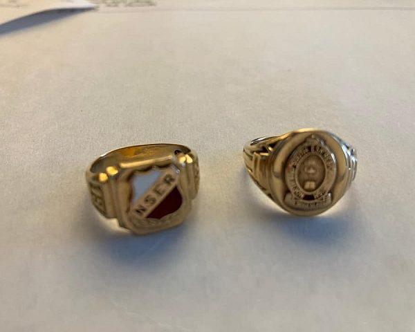 NSER graduation rings